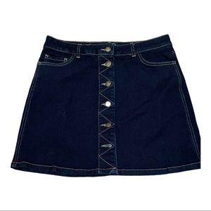 Life In Progress denim skirt